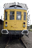 Lokomotive der alten Art Stockbilder