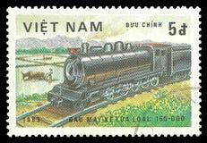 Lokomotive in der Bewegung Lizenzfreie Stockfotografie