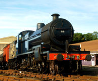 Lokomotive des Dampfs 88 Lizenzfreies Stockbild