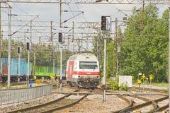 lokomotive rilway Стоковое Изображение