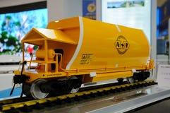Lokomotive von Bauzustands-Übersichtsbericht auf WCIF 2012 Lizenzfreies Stockbild