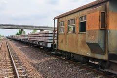 Lokomotiven. Stockfotos