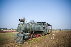 Lokomotivet Royaltyfria Bilder