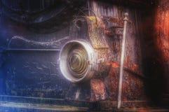 Lokomotivlampe des Dampfs Lizenzfreies Stockbild