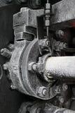lokomotoryczna stara kontrpara Fotografia Stock
