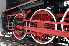 lokomotoryczna stara kontrpara Fotografia Royalty Free