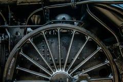 lokomotoryczny koło Zdjęcie Royalty Free