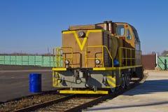 lokomotoryczny kolor żółty Obrazy Royalty Free