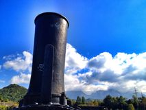 lokomotoryczny komin Obrazy Stock