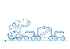 lokomotywa Zdjęcie Royalty Free