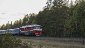 lokomotywa Obraz Royalty Free