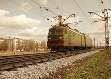 lokomotywa elektryczna Zdjęcie Stock