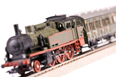 lokomotywa model obrazy stock
