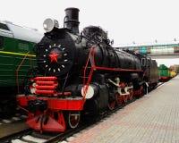lokomotywa retro Zdjęcia Stock