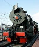 lokomotywy antyczna kontrpara Obraz Stock