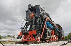 lokomotywy antyczna kontrpara Zdjęcie Royalty Free