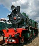 lokomotywy antyczna kontrpara Zdjęcie Stock
