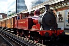 lokomotywy parowozowa kontrpara fotografia royalty free