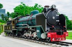 lokomotywy parowozowa kontrpara Zdjęcie Stock