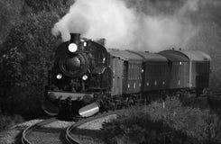 lokomotywy parowozowa kontrpara Zdjęcia Stock