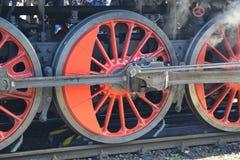 lokomotywy parowozowa kontrpara obrazy royalty free