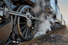 lokomotywy parowozowa kontrpara Obrazy Stock
