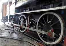 lokomotywy pary kół Fotografia Royalty Free