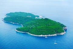 Lokrum-Insel, Dubrovnik Stockfotografie