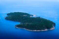 Lokrum island in Adriatic Sea, Croatia. Royalty Free Stock Photos