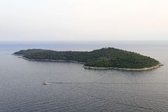 Lokrum Island Royalty Free Stock Images