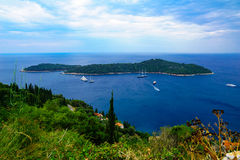 Lokrum Island, Dubrovnik Royalty Free Stock Photo
