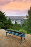 Lokrum island viewpoint Stock Photography
