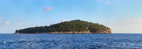 Lokrum wyspa blisko Dubrovnik, Chorwacja Zdjęcia Stock