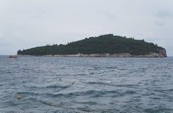 Lokrum wyspa w Dubrovnik fotografia stock