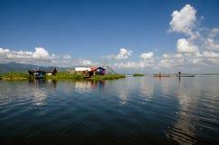 Floating life at loktak lake
