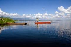 Fisherman life  at loktak lake
