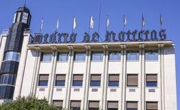 Lokuje dziennik w Lisbon dzwonił Obrazy Royalty Free