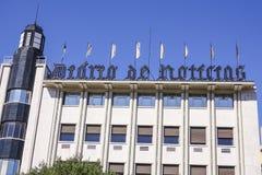 Lokuje dziennik w Lisbon dzwonił Diario De Noticias Obrazy Royalty Free