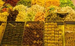Lokum del rahat del placer turco Foto de archivo libre de regalías