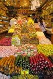 Lokum di Rahat al mercato Fotografie Stock Libere da Diritti