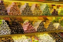 Lokum di Rahat al mercato Immagini Stock Libere da Diritti