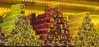 Lokum do rahat do loukoum Fotografia de Stock Royalty Free