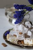 Lokum and nougat - Turkish sweets Stock Image
