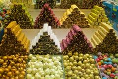 Lokum Rahat на рынке Стоковые Изображения