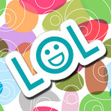 LOL Colorful Background Image stock