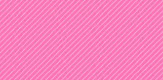 Lol-Puppenhintergrund mit Streifen und Tupfen Netter rosafarbener Hintergrund für girly Partei der Dekoration vektor abbildung
