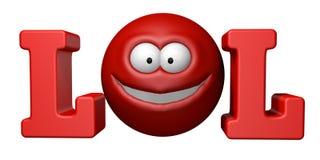 Lol - símbolo Fotos de Stock Royalty Free