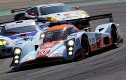 Lola Aston Martin (raza de la serie de Le Mans) Imagen de archivo libre de regalías