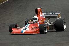Lola F5000 racing car at speed Stock Photo