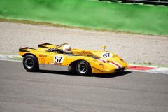 1971 Lola T210 στο κύκλωμα Monza Στοκ φωτογραφίες με δικαίωμα ελεύθερης χρήσης